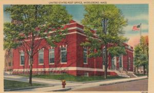 MIDDLEBORO, Massachusetts, 30-40s: United States Post Office