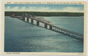 KY - Eggner's Ferry Bridge, Kentucky Lake