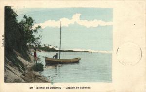 CPA Dahomey Afrique - Colonie du Dahomey - Lagune Cotonou (86868)