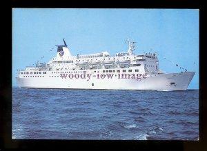 FE2783 - French SNMC Ferry - Liberte , built 1980 - postcard
