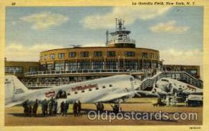 La Guardia Field, New York, NY USA Airport, Airports Post Card, Post Card  La...