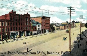 USA Penn Square from 6th St. Reading Pennsylvania 03.51