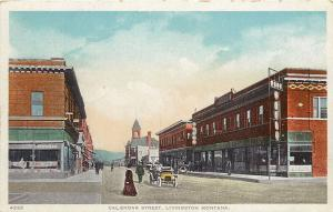 Livingston MT Atchison Drugstore (Pestle & Mortar) Park Hotel~Post Office Block