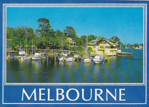 Boats At Dockside Melbourne Florida