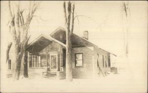 Home - Hutchinson MN Cancel 1914 Real Photo Postcard