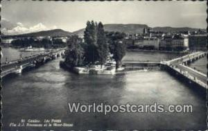 Geneve Swizerland, Schweiz, Svizzera, Suisse les Ponts  les Ponts