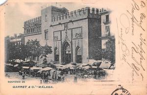 Spain Old Vintage Antique Post Card Garret & C Malaga 1904