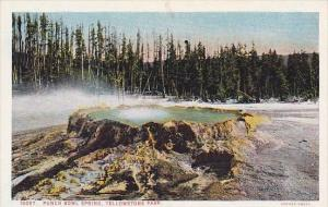 Punch Bowl Spring Yellowstone National Park