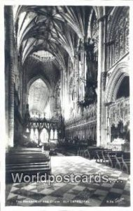 Presbytery & Choir Ely Cathedral UK, England, Great Britain Unused