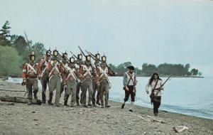 British Scouting Party 1812 War Military Canadian Postcard