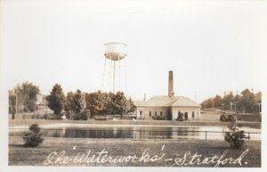 RP: STRATFORD , Ontario , Canada , 1930s-40s ; The 'Waterworks'