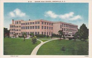 South Carlina Greenville Senior High School