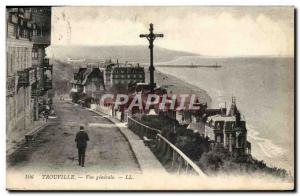 Old Postcard Trouville General view