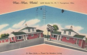 YOUNGSTOWN, Ohio, 1930-40s; Mac - Mar Motel, 2-views