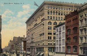 BUFFALO , NY, 1900-10s ; Main street