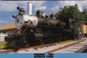 Casey Jones Locomotive #382 At Casey Jones Village Jackson Tennessee