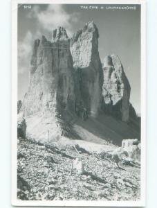 old rppc TRE CIME DI LAVAREDO Auronzo Di Cadore & Toblach Dobbiaco Italy i2924