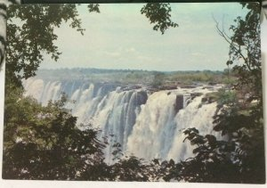 Zimbabwe Eastern cataract Victoria Falls - unposted