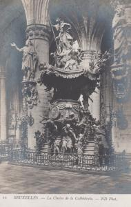 RP: BRUXELLES , Belgium , 00-10s ; La Chaire de la Cathedrale