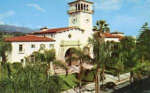 CA - Santa Barbara. Courthouse, 1950's