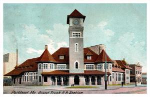 8970  ME Portland Grand Trunk RR Station