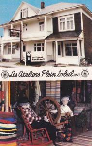 Manikins, Les Ateliers Plein Soleil Inc., Mont-Joli, Quebec, Canada, PU-1986