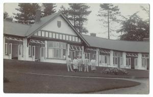 Staff & Nurse at Sanatorium RP PPC, Unposted, !908 Date Stone, Social History