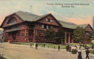 Oregon Portland Forestry Building Lewis & Clark Memorial 1913 sk418