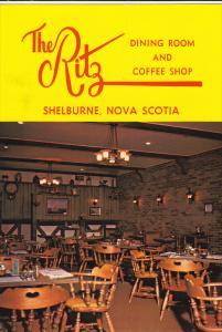 Interior View, The Ritz, Dining Room & Coffee Shop, Shelburne, Nova Scotia, C...