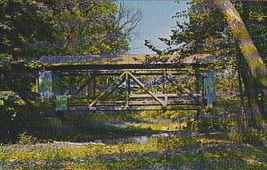 Lobdell Creek Covered Bridge Licking County Ohio