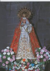 Postal Virgenes 244 : Virgen de los Hitos, patrona de Alcantara (Caceres)