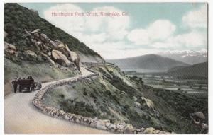 USA; Huntingdon Park Drive, Riverside, California PPC, Unposted, By Newman