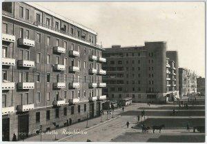49728  CARTOLINA d'Epoca - FOGGIA citta' : Via della Repubblica 1953