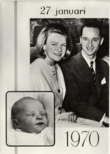 netherlands, Prince Carlos Xavier Bernardo Born (1970)