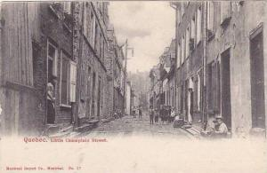 Little Champlain Street, Quebec, Canada,   00-10s