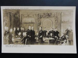 WW1 Some Sea Officers of The Great War - from original by Sir Arthur S.Cope R.A.