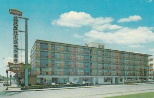 KINGSPORT, Tennessee, 1950-60s; Downtowner Motor Inn, Shelby and Center