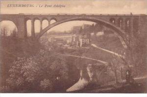 Luxemburg Le Pont Adolphe