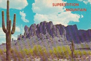Arizona Superstition Mountain Near Mesa