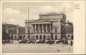 Neues Theater Leipzig Germany