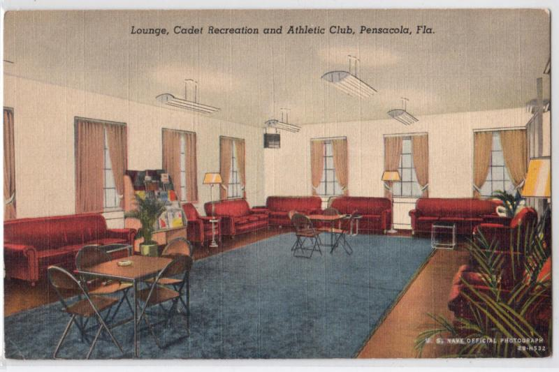 Lounge, Cadet Recreation & Athletic Club, Pensacola FL