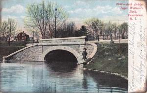 Arch Bridge at Roger Williams Park - Providence RI, Rhode Island - UDB