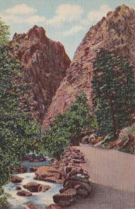Colorado Colorado Pillars Of Hercules South Cheyenne Canon Curteich