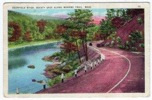 Deerfield River, Beauty Spot Along Mohawk Trail, Mass