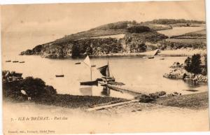 CPA Ile de BRÉHAT - Port-clos (243493)