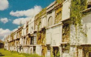 Vaults Of Old Saint Louis Cemetery New Orleans Louisiana