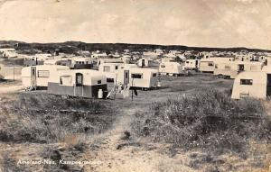 Netherlands Ameland-Nes Kampeerterrein Camping Place Partial view 1960