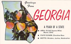 Greetings From Georgia The Peach State