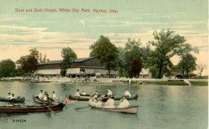 OH - Dayton. White City Park, Boat and Bath House