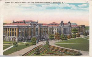 Bowne Hall, Library And Gymnasium, Syracuse University, SYRACUSE, New York, 1...